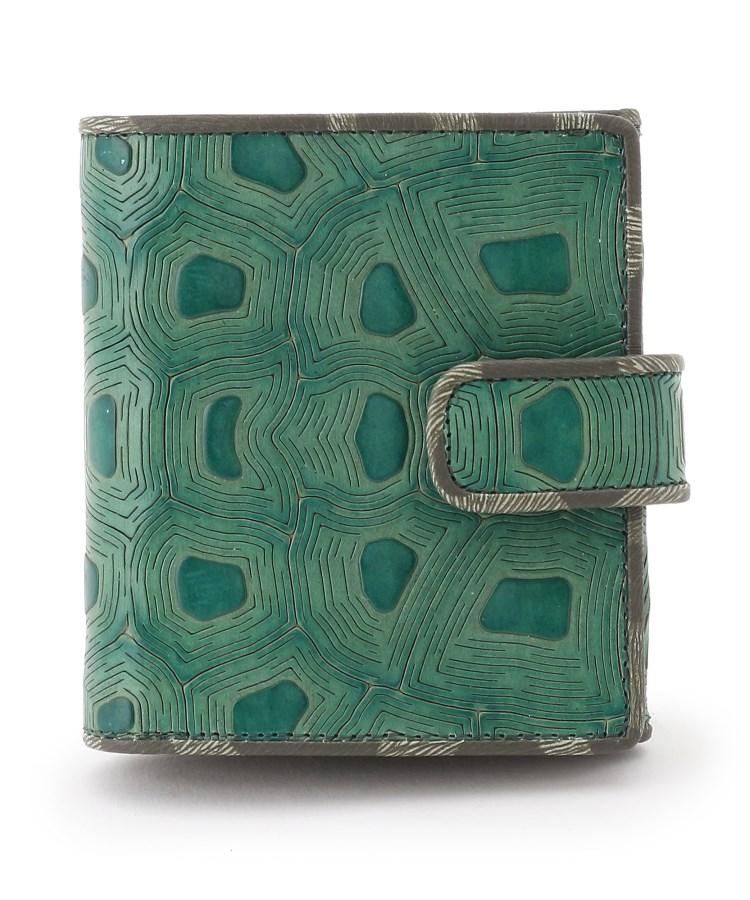 HIROKO HAYASHI(ヒロコ ハヤシ)COLLABORAZIONE(コラボラツィオーネ) 薄型二つ折り財布
