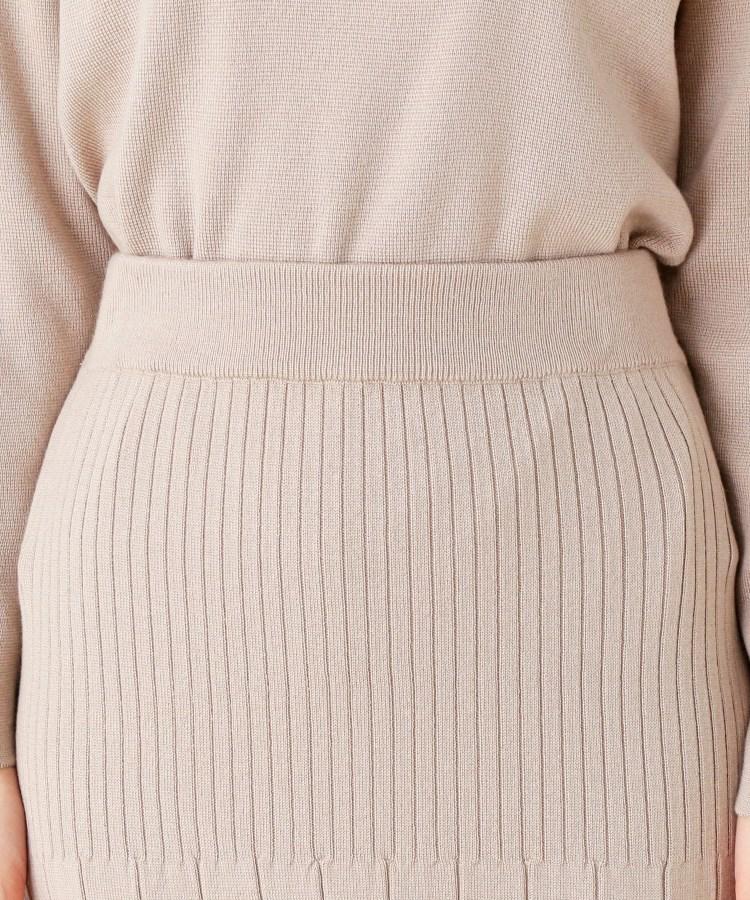 grove(グローブ)通販|【洗える/アンチピリング加工】毛玉軽減プリーツ風ニットスカート