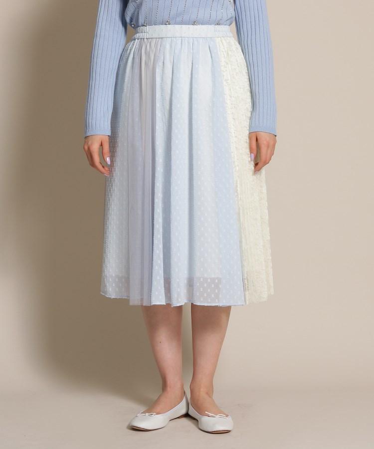 anatelier/Bon mercerie(アナトリエ/ボン メルスリー)チュールレースミディ丈スカート
