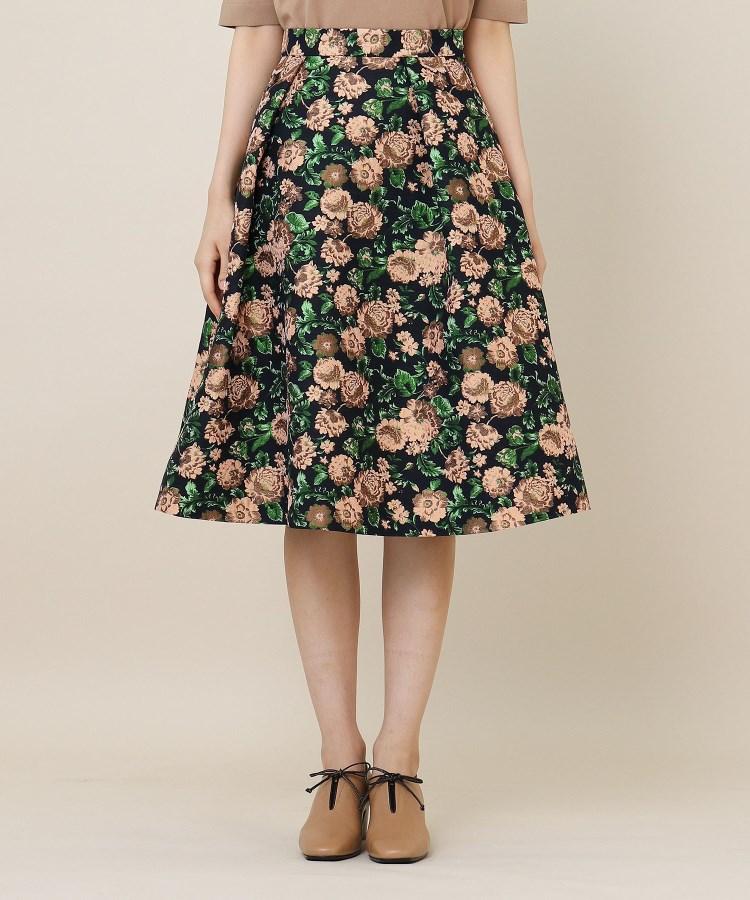 anatelier/Bon mercerie(アナトリエ/ボン メルスリー)ガーデンジャガード刺繍スカート