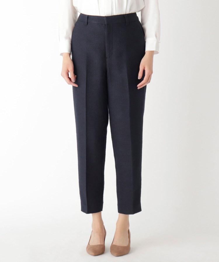 ≪スーツ,パンツ(単品)≫ AG by aquagirl(エージー バイ アクアガール)ツイードスリムテーパードアンクルパンツ