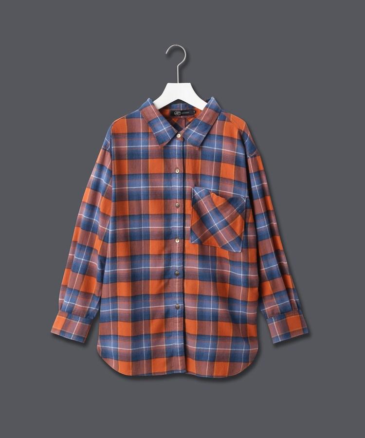 JET(ジェット)【ウォッシャブル】コットンユーズドライクチェックシャツ