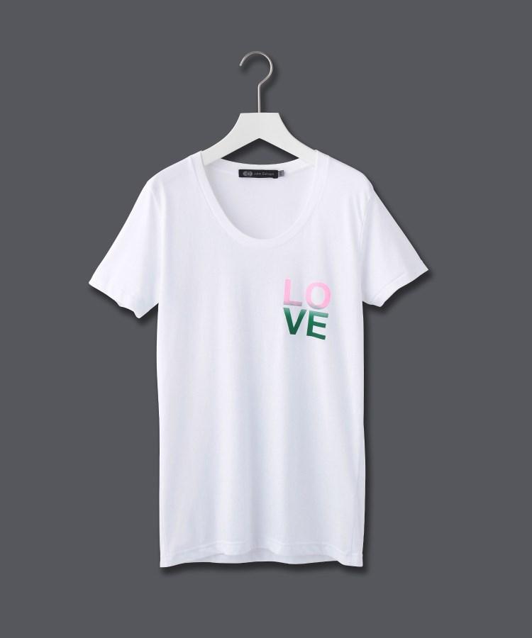 JET(ジェット)【ウォッシャブル】ロゴプリントTシャツ