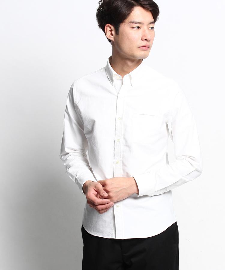 Dessin(Men)(デッサン(メンズ))【洗える】オックスフォードボタンダウンシャツ