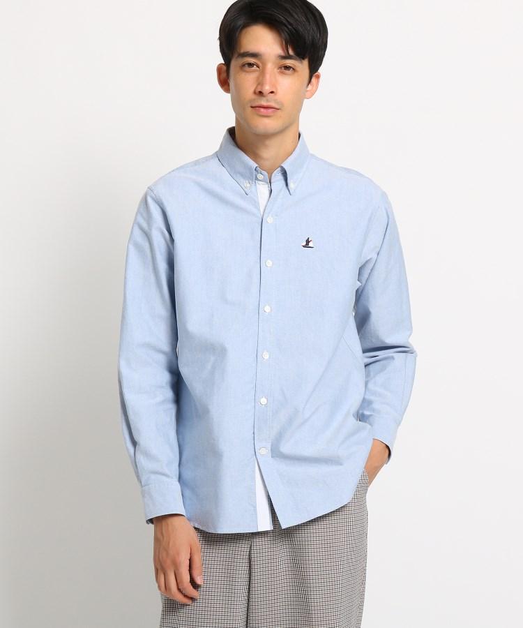 Dessin(Men)(デッサン(メンズ))ヨットオックスフォードボタンダウンシャツ