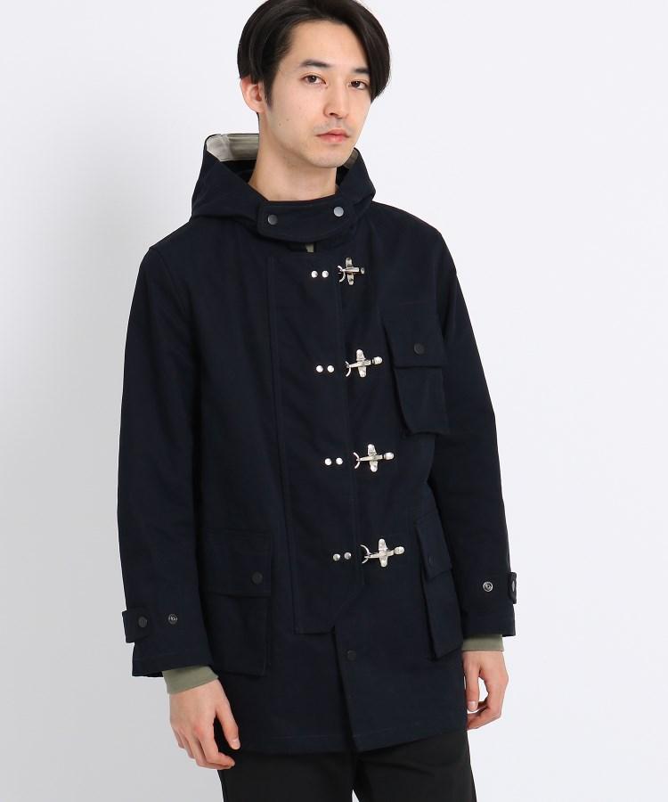 Dessin(Men)(デッサン(メンズ))微起毛コットンフードジャケット