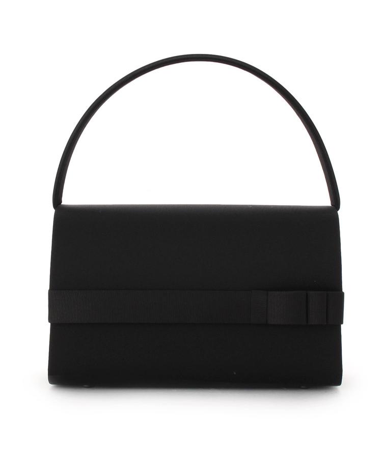 INDIVI COLOR DRESS(インディヴィ カラードレス)PETITSOIR リボンラインブラックバッグ