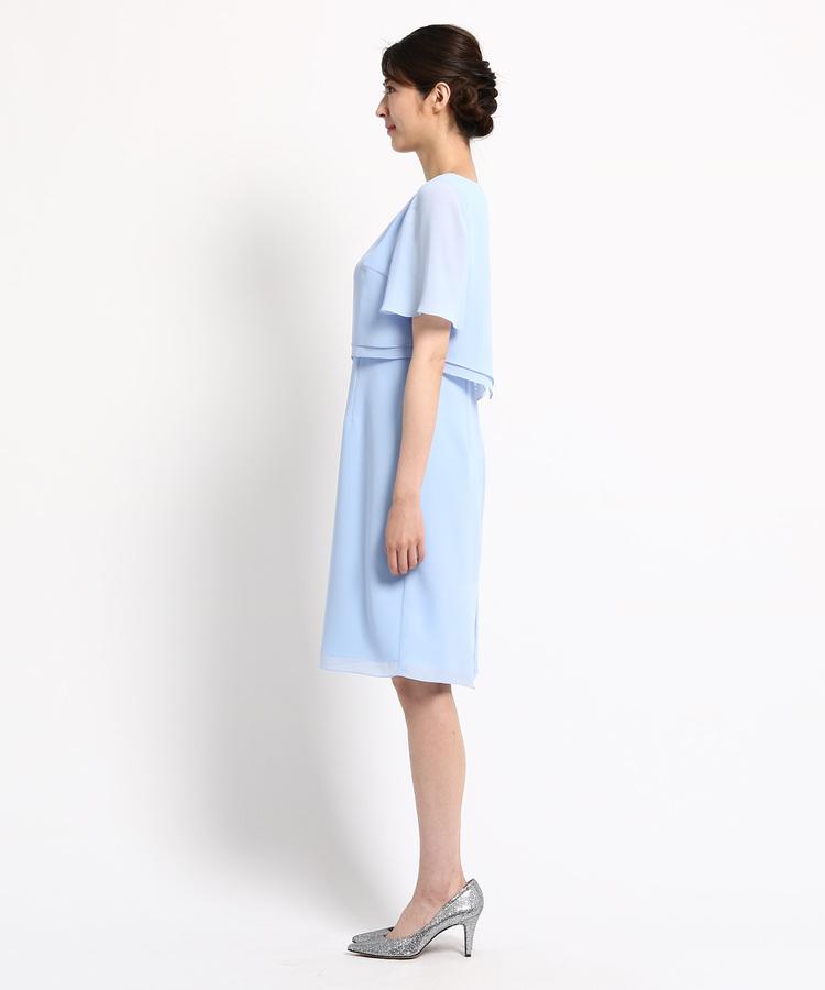 554eac0b91855 ... WORLD FORMAL SELECTION(ワールド フォーマル セレクション)通販EMOTIONAL DRESSES ツーピース風ワンピース  ...