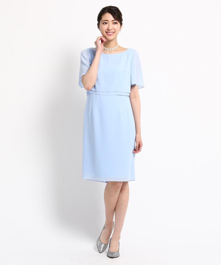 65fd6e2c1613d ... WORLD FORMAL SELECTION(ワールド フォーマル セレクション)通販EMOTIONAL DRESSES ツーピース風ワンピース