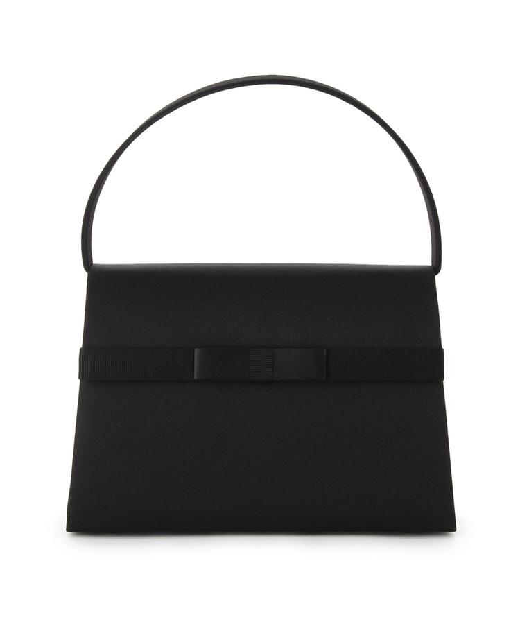 INDIVI COLOR DRESS(インディヴィ カラードレス)PETITSOIR グログランハンドバッグ