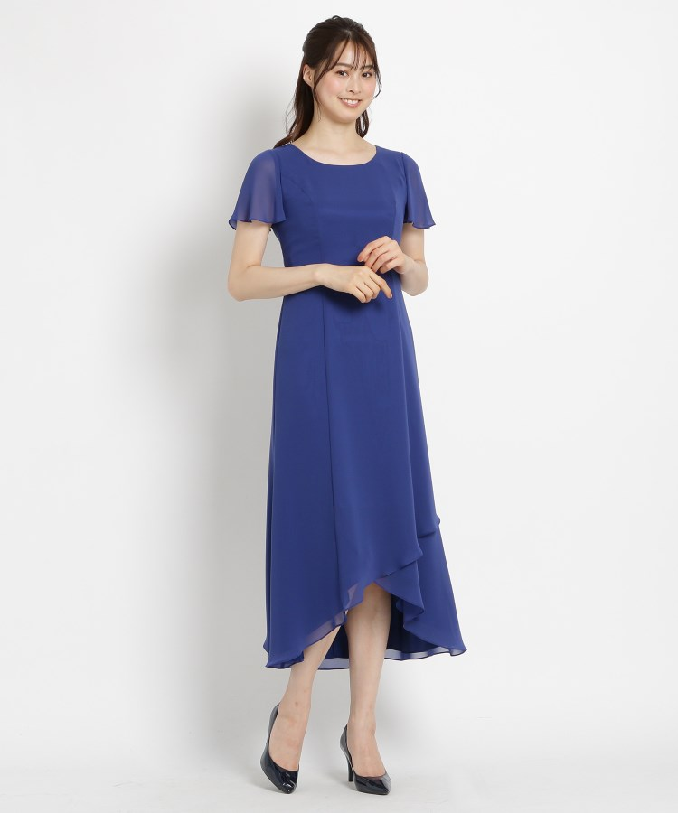 WORLD FORMAL SELECTION(ワールド フォーマル セレクション)EMOTIONALL DRESSES ヘム重ねマキシワンピース