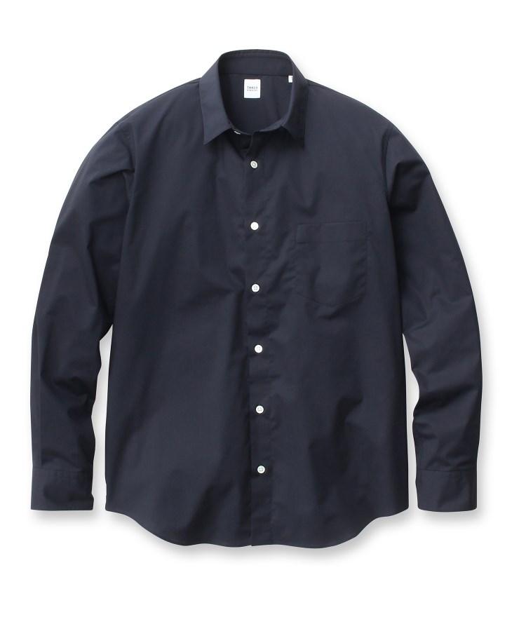 TAKEO KIKUCHI(タケオキクチ)【WEB限定】ドライストレッチシャツ[ メンズ シャツ 日本製 乾きやすい ]