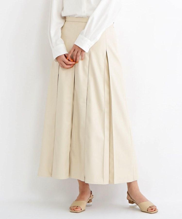 C4 OZOC(シーフォーオゾック)エコレザースカート