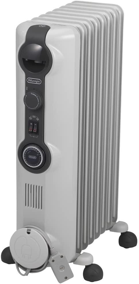 デロンギ DeLonghi 爆売りセール開催中 オイルヒーター 8~10畳用 マーケティング HJ0812 ホワイト ゼロ風暖房