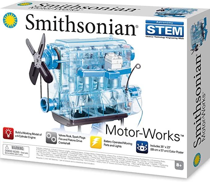 おすすめ 送料無料 最短当日発送 エンジン模型 信託 スケルトン エンジン プラモデル キット Smithonian スミソニアン