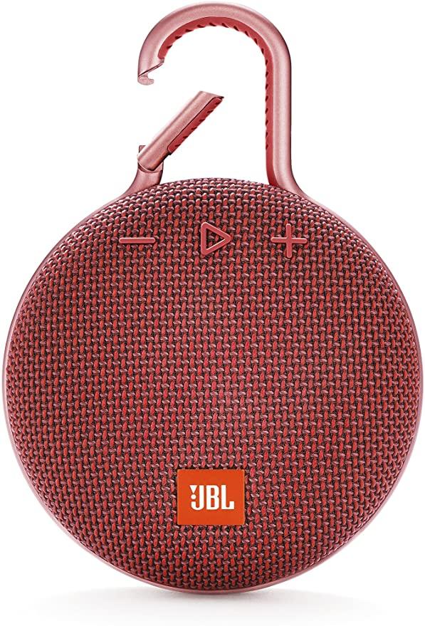 <title>最短当日発送 送料無料 35%OFF JBL CLIP3 Bluetoothスピーカー IPX7防水 パッシブラジエーター搭載 ポータブル カラビナ付 レッド JBLCLIP3RED 国内正規品 メーカー1年保証付き</title>
