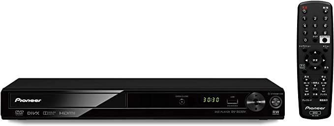 期間限定の激安セール 送料無料 全国一律送料無料 最短当日発送 Pioneer DVDプレーヤー DV-3030V