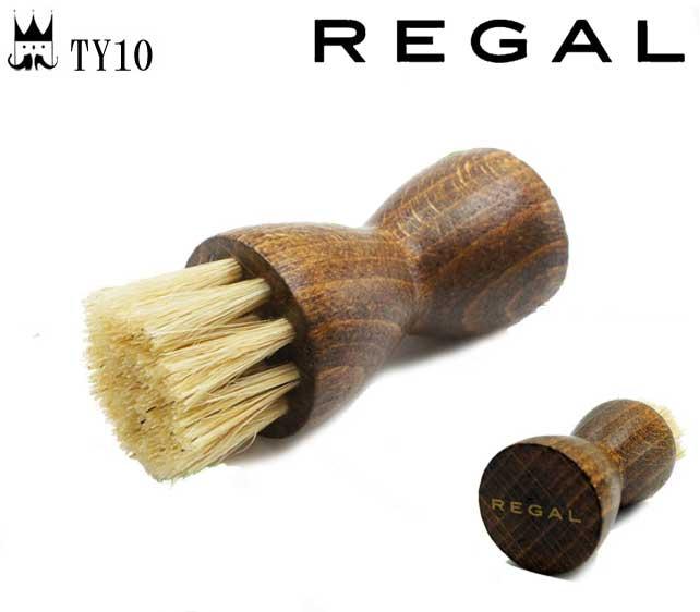 大切な靴のお手入れに 20S再 リーガル 公式ショップ REGAL シューケア用品 アプローチブラシ TY10 evid シューブラシ クリーム 新作送料無料 豚毛 細部 お手入れ 手が汚れない