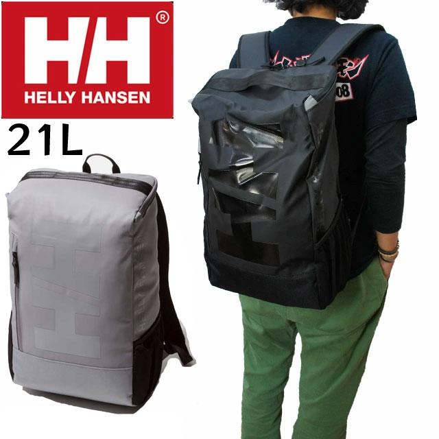 【送料無料】(一部地域除く)ヘリーハンセン HELLY HANSEN HY91881 バッグ メンズ レディース 21L バーチカルアーケルデイパック リュック バックパック PCスリーブ ブラック evid