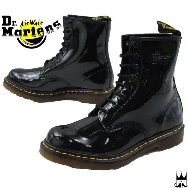 24bf09007c6 UK9 (28 cm) only ♢ Dr. Martens 1460 W 11821011 BLACK   Dr.Martens men s  casual boots 8 hole boots lace-up black PATENT LAMPER