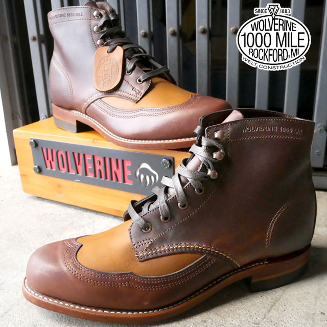【送料無料】(一部地域除く)【】WOLVERINE 靴 もれなくブーツケアキットプレゼント ADDISON BOOT W06000 ブラウンタン ウルバリン アディソンブーツ メンズ カジュアル BOOTS ワークブーツ BROWNTAN evid【sd】