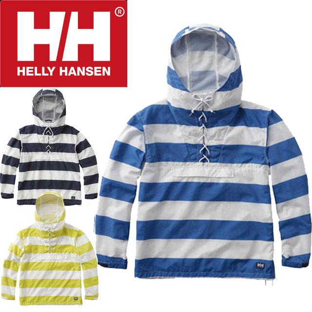 【送料無料】ヘリーハンセン HELLY HANSEN メンズ 長袖 パーカー HOE11802 ボーダーベルゲンアノラック ウィンドブレーカー N1 ボーダーネイビー B8 ボーダーアースブルー Y1 ボーダーイエロー evid ///