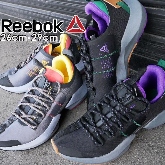 【送料無料】リーボック Reebok スニーカー メンズ DV9416 DV9418 ソールフューリー OT ローカット ランニングシューズ ダッドスニーカー 運動靴 ブラック グレー evid