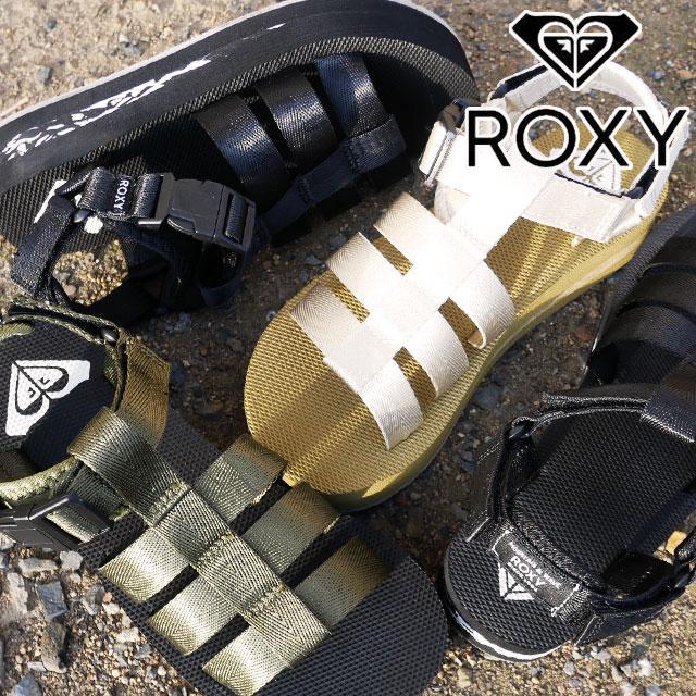 ロキシー ROXY DAY CAMPER レディース 厚底サンダル 《週末限定タイムセール》 ストラップサンダル グラディエーター 靴 黒 SS新作 RSD212505 トープ 好評 カーキ evid 2021 ブラック