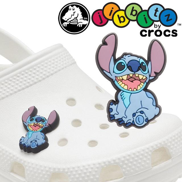 お買い得品 メール便可 クロックス crocs ジビッツ Jibbits Disney 国産品 Stitch アクセサリー シューチャーム FW新作 evid ラバークロッグ用アクセサリー 2021 正規品 スティッチ ディズニー 10007979