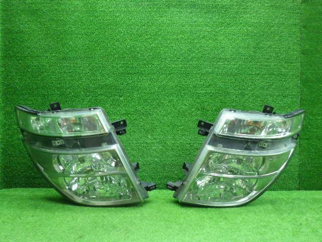 日産 E51 エルグランド 前期 ヘッドライト 左右セット HID 200110167 車 パーツ パーツ 部品 カスタム 即発送:ワールドピーストレーディング