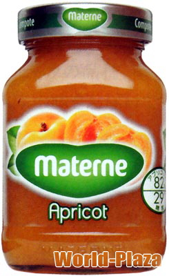 安値 あんずのやさしい甘さが特徴です 上等 マテルネ アプリコットコンポート