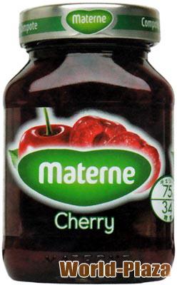 やわらかいチェリーの果肉がたっぷり マテルネ 時間指定不可 チェリーコンポート 買取