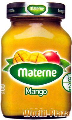 大好評です フルーツを砂糖で煮たヨーロッパの伝統的なデザート 登場大人気アイテム マテルネ マンゴーコンポート