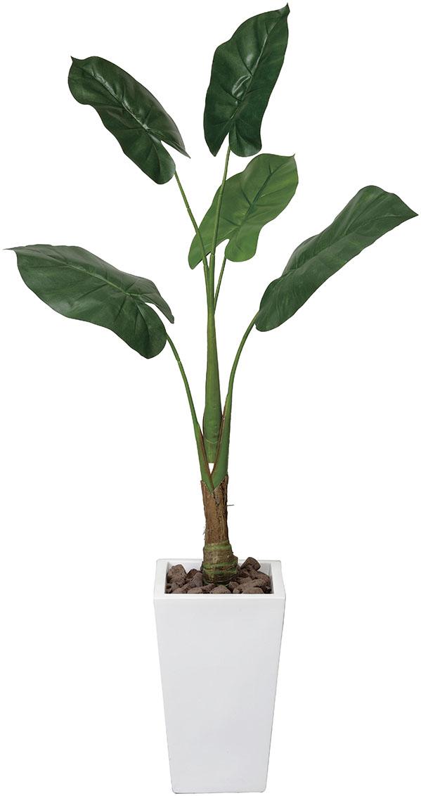 【送料無料・ポイント10倍】《アートグリーン》《人工観葉植物》光触媒 光の楽園 くわず芋1.4