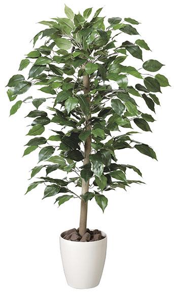 【送料無料・ポイント10倍】《アートグリーン》《人工観葉植物》光触媒 光の楽園 光の楽園 ベンジャミン1.0