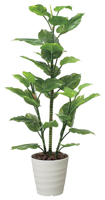 【送料無料・ポイント10倍】《アートグリーン》《人工観葉植物》光触媒 光の楽園 光の楽園 フレッシュポトス1.5