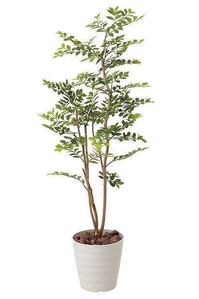 【送料無料・ポイント10倍】《アートグリーン》《人工観葉植物》光触媒 光の楽園 ゴールデンリーフ1.25