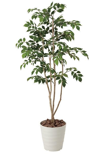 【送料無料・ポイント10倍】《アートグリーン》《人工観葉植物》光触媒 光の楽園 マウンテンアッシュ1.3