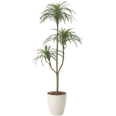 【送料無料・ポイント10倍】《アートグリーン》《人工観葉植物》光触媒 光の楽園 ユッカ 1.3