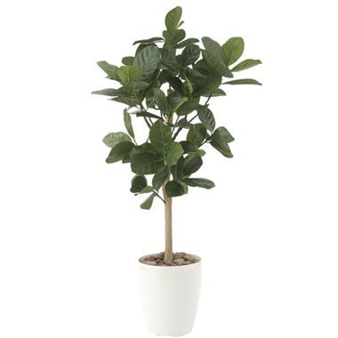 【送料無料・ポイント10倍】《アートグリーン》《人工観葉植物》光触媒 光の楽園 パンの木90