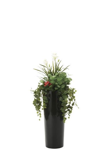 【送料無料・ポイント10倍】《アートグリーン》《人工観葉植物》光触媒 光の楽園 寄せ植えユッカ1.3