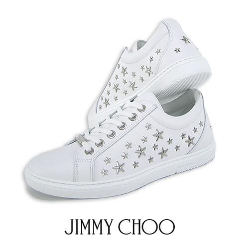 【2019春夏新作】 ジミーチュウ/JIMMY CHOO メンズ スニーカー CASH OSX (WHITE/ホワイト) シューズ/靴/ローカット