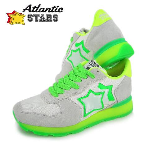【2019春夏定番モデル】 アトランティックスターズ/Atlantic STARS メンズ スニーカー ANTARES BCG 37VF (ホワイト/ライトグレー) シューズ/靴
