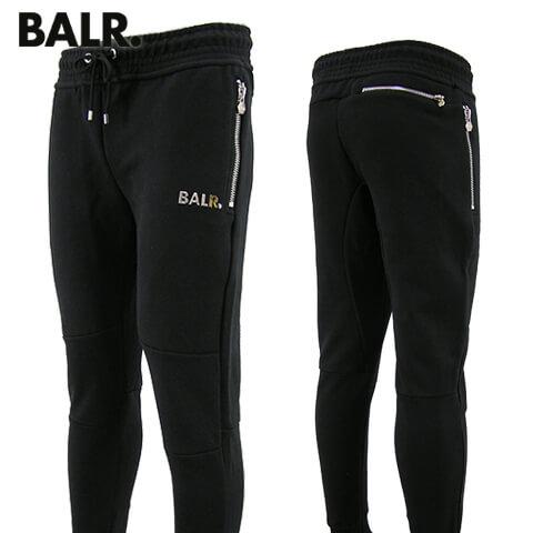 【2020春夏新作】 ボーラー/BALR. メンズ スウェットパンツ Q-series Classic Sweatpants B10008 BLACK Qシリーズ クラシック スウェットパンツ/スウェット/大きいサイズ-b