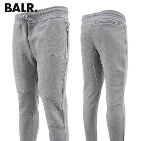 【2020春夏新作】 ボーラー/BALR. メンズ スウェットパンツ Q-series Classic Sweatpants B10008 GREY Qシリーズ クラシック スウェットパンツ/スウェット/大きいサイズ-b