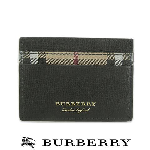 【2018春夏新作】 バーバリー/BURBERRY London England メンズ カードケース 4065236 (BLACK/ブラック) 小物/プレゼント/誕生日/パーティー/バレンタイン/父の日/クリスマス/ユニセックス/男女兼用
