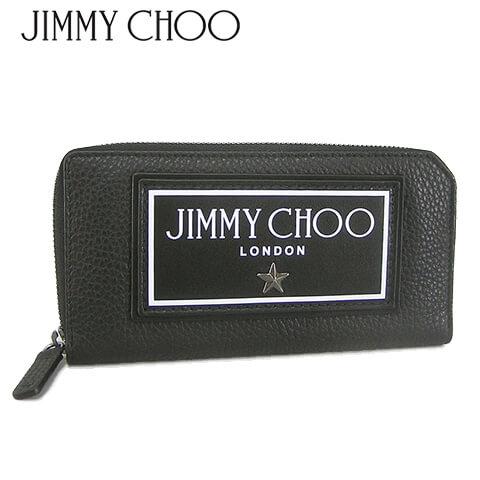 ジミーチュウ/JIMMY CHOO メンズ 長財布 SEKI GNL (BLACK/ブラック) セキ/スタッズ/ラウンドファスナー/ラウンドジップ/小物/プレゼント/誕生日/パーティー/バレンタイン/父の日/クリスマス/SL