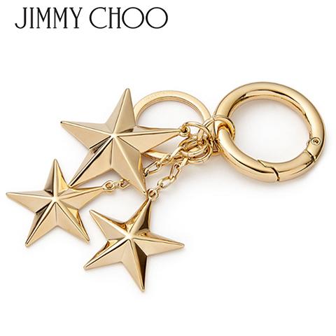 【2020春夏新作】 ジミーチュウ/JIMMY CHOO キーチャーム MINTY MTL (GOLD/ゴールド) キーリング/メタルスター/小物/プレゼント/誕生日/パーティー/バレンタイン/父の日/クリスマス/レディース/SL