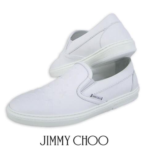 【2019春夏新作】 ジミーチュウ/JIMMY CHOO メンズ スニーカー GROVE AOA (ULTRA WHITE/ホワイト) シューズ/靴/スリッポン