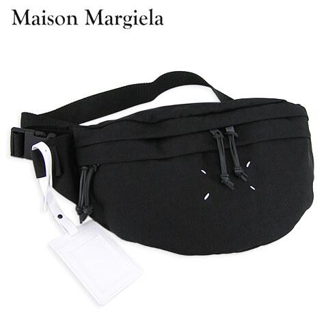 【2020春夏新作】 メゾンマルジェラ/Maison Margiela メンズ ベルトバッグ BUMBAG XL S55WB0017 PR253 (BLACK/ブラック/T8013) バムバッグ XL/小物/バッグ/リュック/ユニセックス/男女兼用